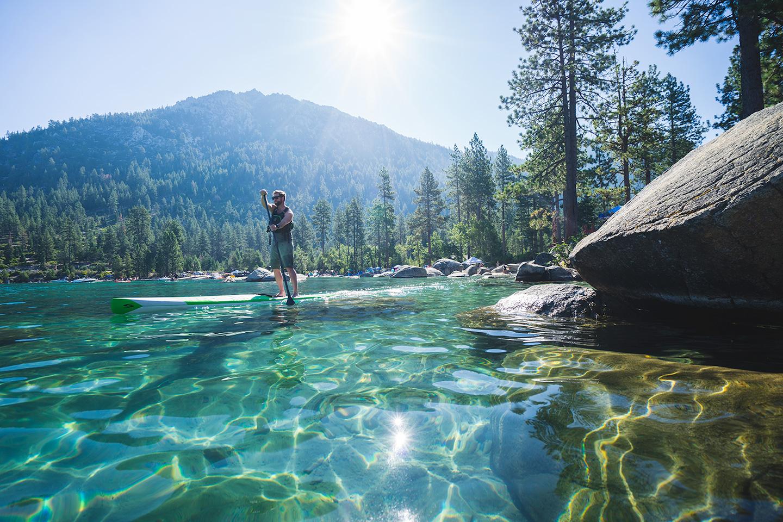 lac tahoe paddle