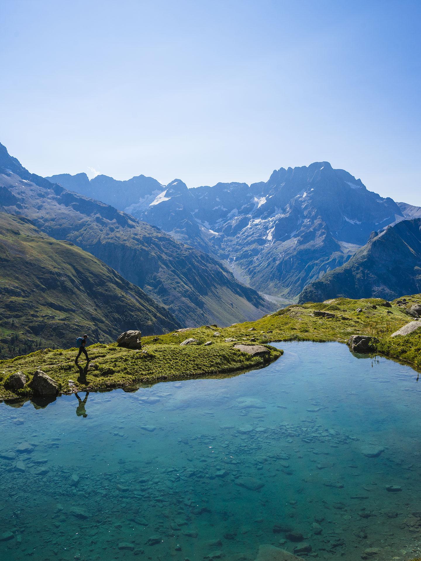lac bleu champsaur valgaudemar