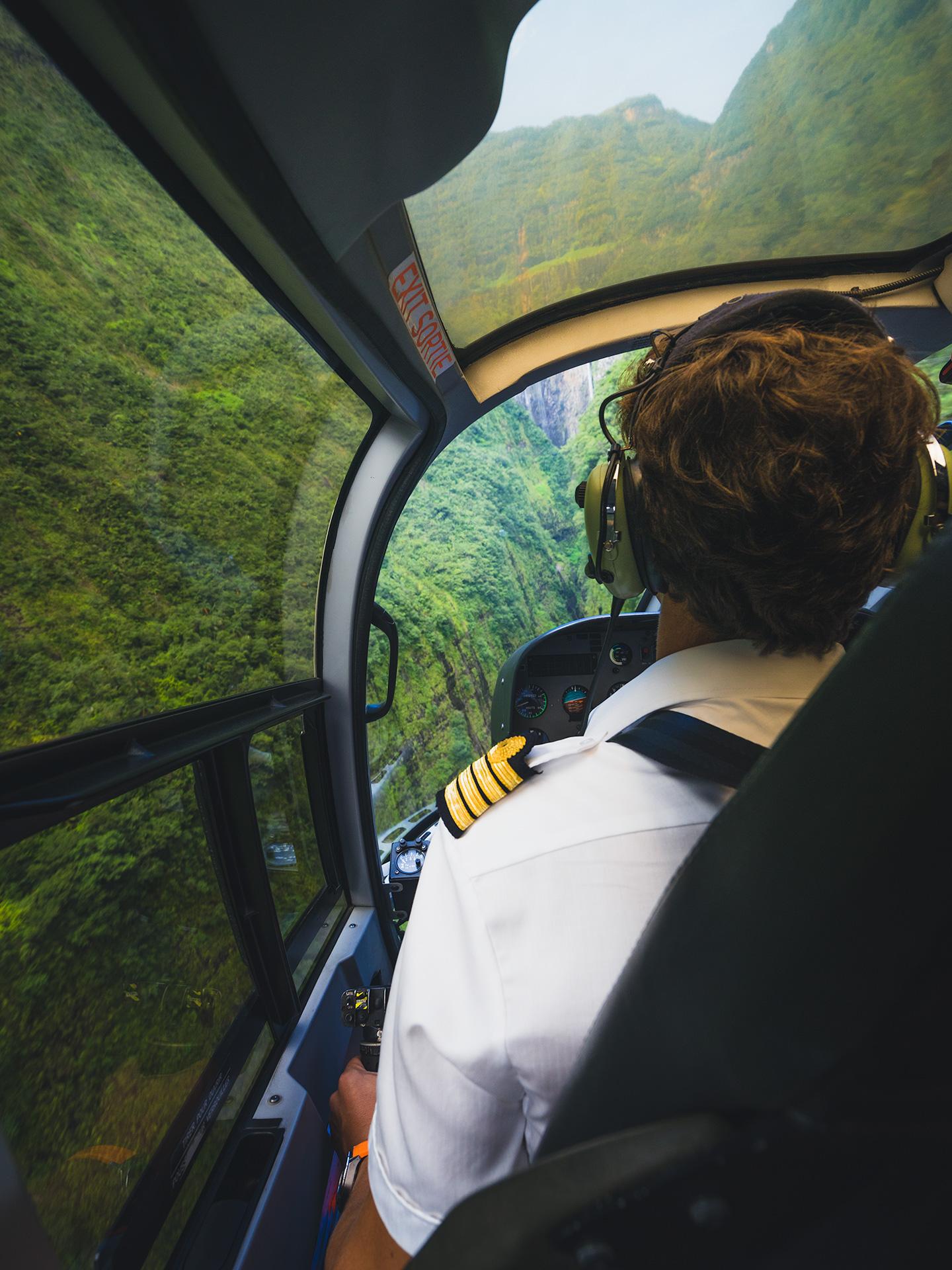 vol hélicoptère la réunion