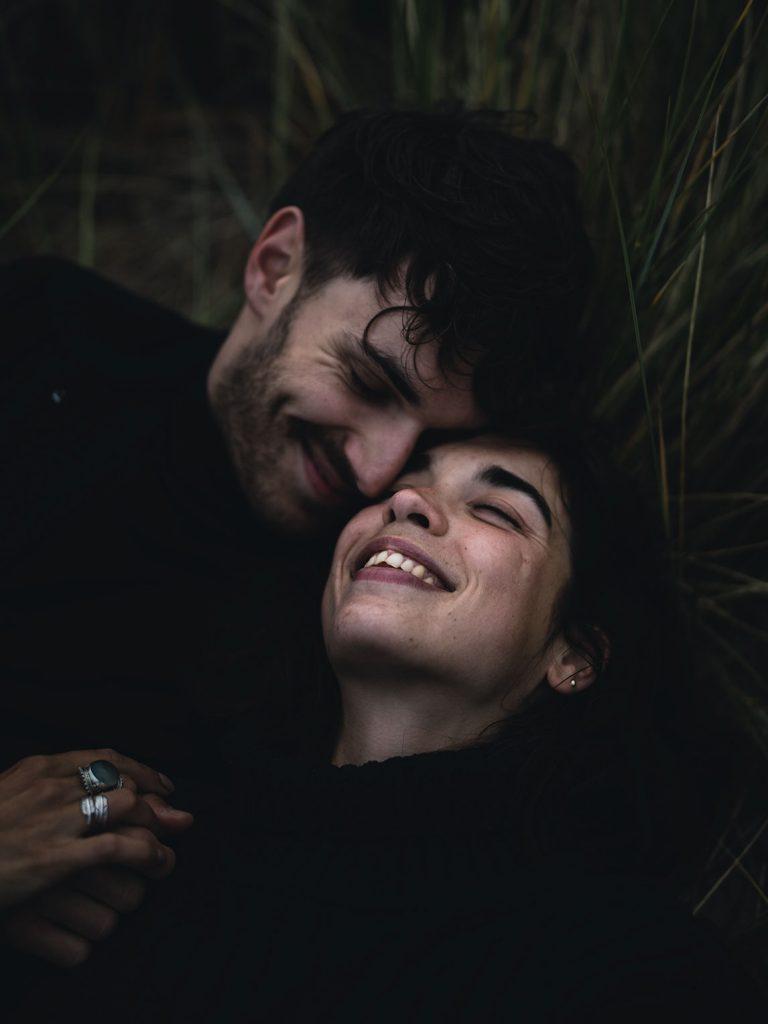shooting photo couple en bretagne